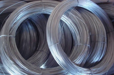Storage Of Galvanized Steel Wire